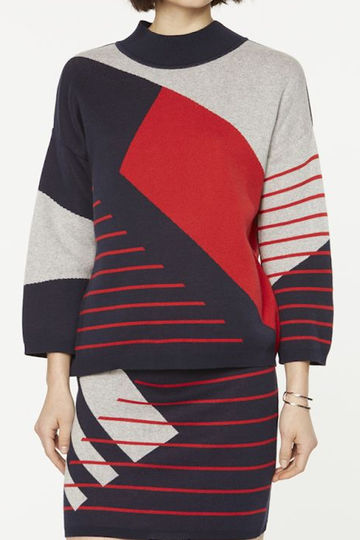 Agnes sweater | striped chaos
