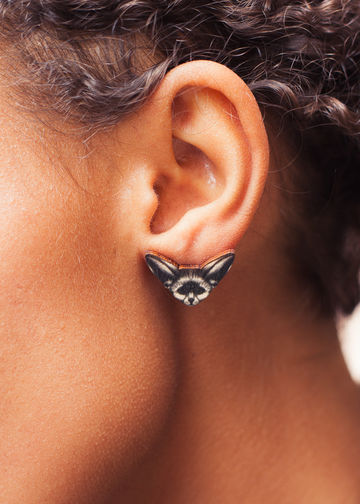 Vision Desert Fox stud earrings