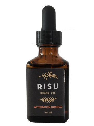RISU beard oil | Afternoon Orange