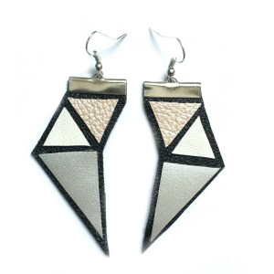 Symmetry earrings | silver
