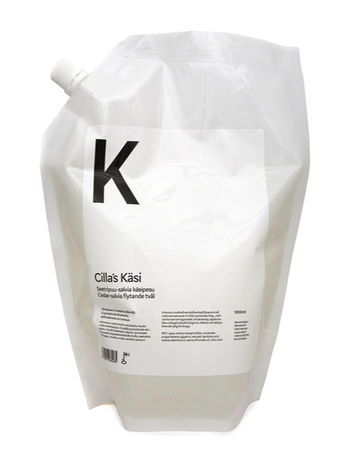 Refill Käsi cedarwood-sage liquid soap | 1000ml
