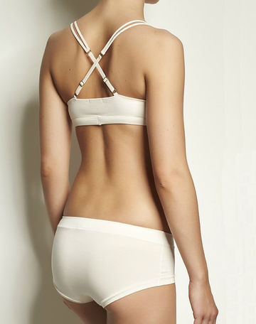 Brief Base Blush knickers | high rise blush