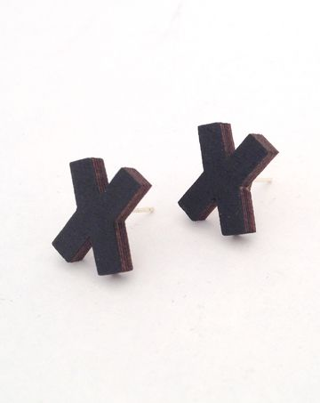 XXX earrings | black