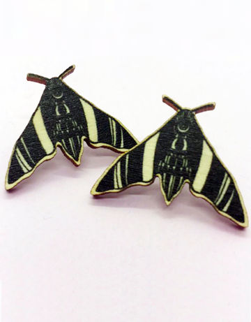 Nightfly stud earrings