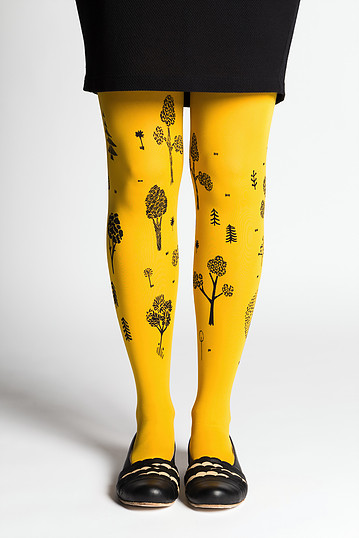 Puisto tights | yellow