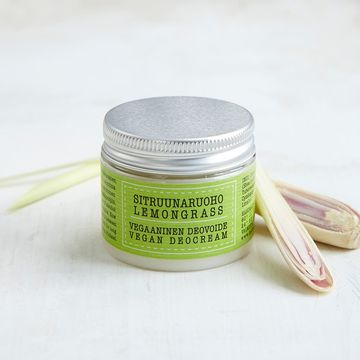 Vegan deodorant cream 50ml | lemongrass
