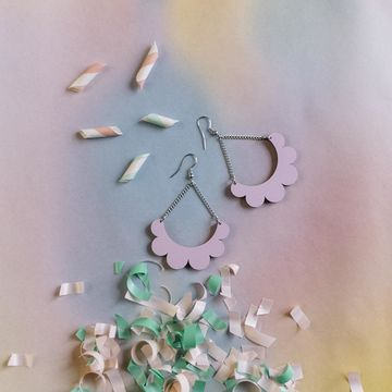 Kaarella earrings | candy pink