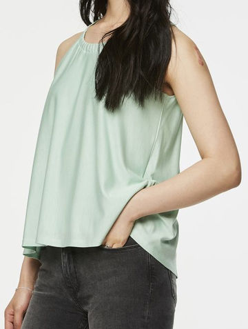 Birthe top | minty green
