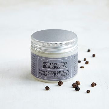 Vegan deodorant cream 50ml | black pepper
