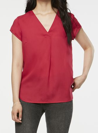 Rila shirt | cherry pink