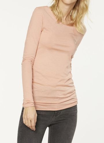 Eve long sleeve | peach