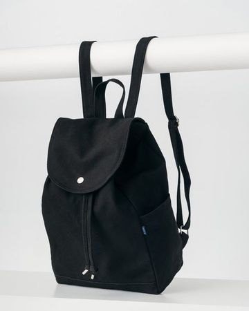 Drawstring backpack | black