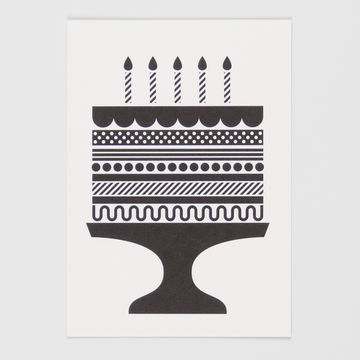 Piece Of Cake postcard A6
