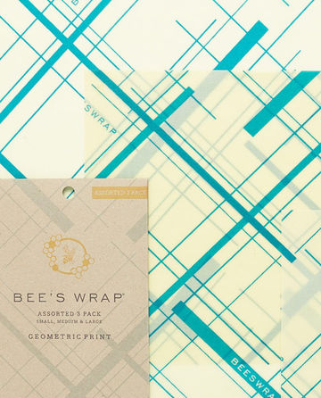 Bee's Wrap 3-pack | S/M/L geometric print