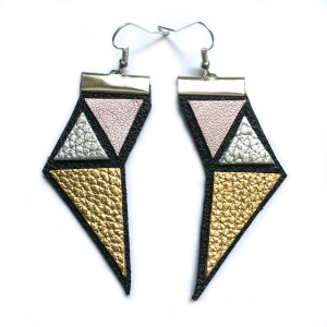 Symmetry earrings | gold