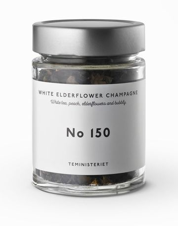 Elderflower champagne | white tea nro 150 JAR