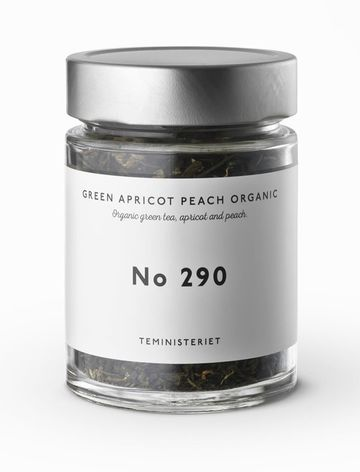 Apricot peach | organic green tea nro 290 JAR
