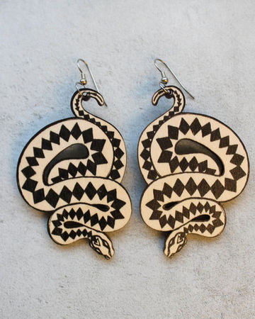 Viper earrings