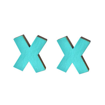 XXX earrings | turquoise